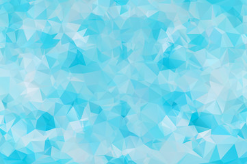 Polygonal colorful pattern of triangles. Geometric gradient background. Triangular design for web, business template, brochure, card, poster, banner design.