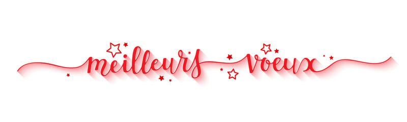 """Bannière """"MEILLEURS VOEUX"""""""
