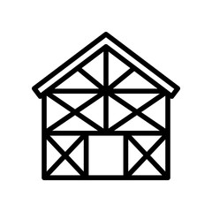 Construction - House Frame - (Outline)