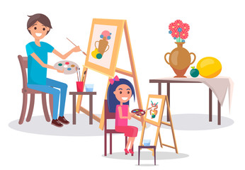Art Family Classes Drawing Still Life Picture Vase