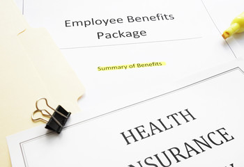 New hire Benefits documents
