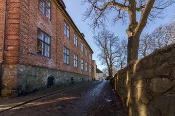 The The Fortified Town, the Old Town in Fredrikstad, Norway