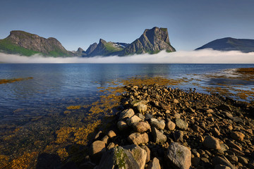 Vagsoy Island, Norway, Beautiful landscape of Norway, Scandinavia
