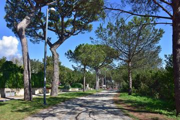 Napoli, viale del parco Virgiliano di Posillipo