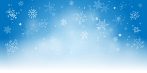 Winter Snow Cosy Background