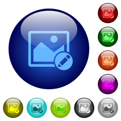 Rename image color glass buttons