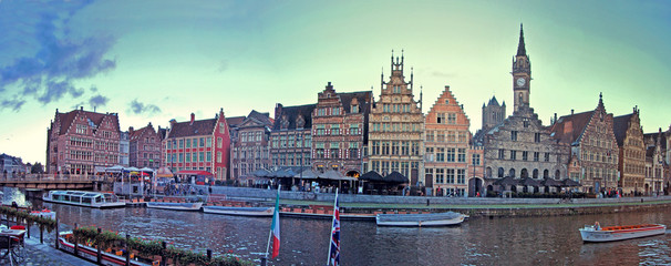 Gand, Flandres, Belgique