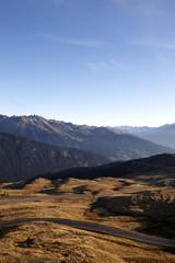 Mountainpass, Jaufenpass, South Tyrol, Italy
