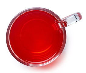 Cup of red tea