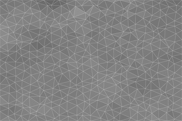 Background with triangle gray pattern, Abstract mosaic background, Polygonal background