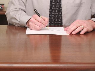 Businessman Contract