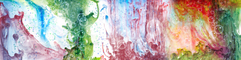 bright, multicolored, blurry, abstract background