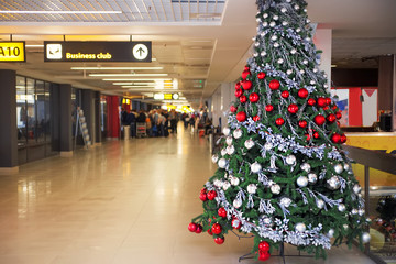 New Year's Eve at the airport