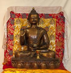 representation of Thai buddha