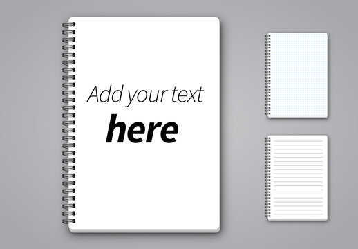 3 Notepad Page Layouts