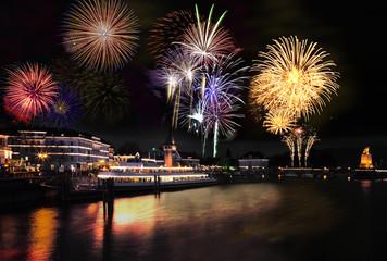 Feuerwerk Lindau, Bodensee
