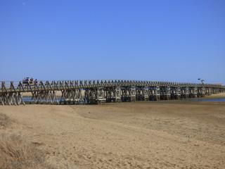Isla Cristina, pueblo costero de Huelva, Andalucía (España) a unos 7 km de la frontera portuguesa