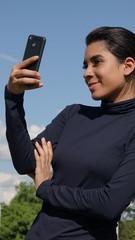 Female Teenager Selfie