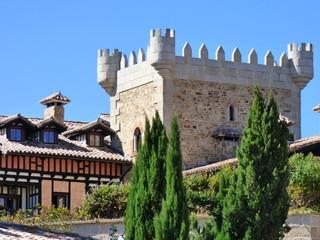 Abadia de los templarios en La Alberca, Salamanca ( Castilla y Leon, España)