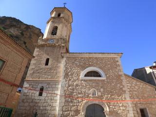 Libros, pueblo de Teruel a orillas del río Turia y a 26 km de la capital  en Aragon, España