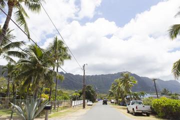 ハワイ ワイマナロの風景