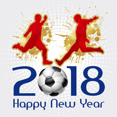 Calcio, Mondiali, 2018, Happy New Year
