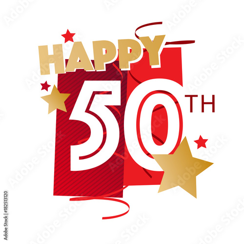 Happy 50th Birthday Stockfotos Und Lizenzfreie Vektoren Auf Fotolia