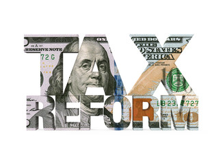 Tax Reform Dollar Isolated