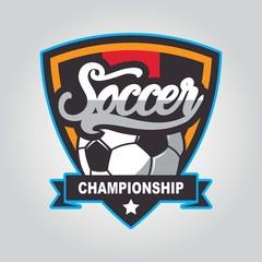 Soccer design template