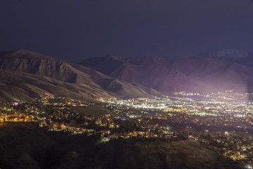 University of Utah by Night