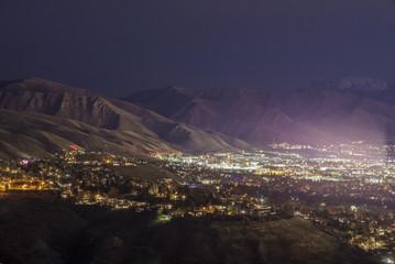 University of Utah by Night
