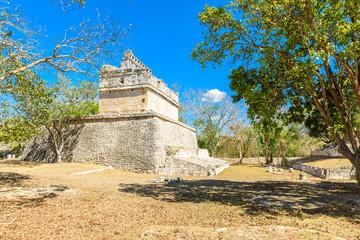 Old historic ruins of Chichen Itza, Yucatan, Mexico