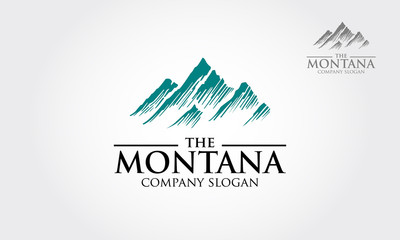 Blue Mountains logo illustration