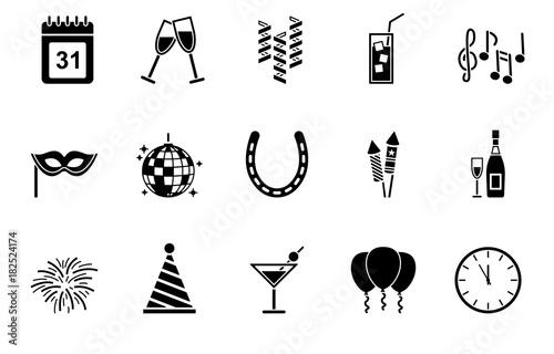 Silvester Symbole