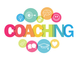 COACHING Vector Concept Banner