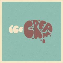 Ice cream. Stylized vector image