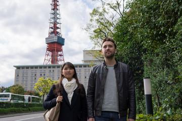 日本人女性とヨーロッパ人男性