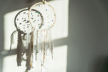 Beautiful dream catcher with shadow