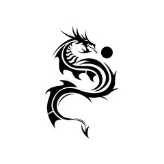 Dragon logo,Dragon,Vector Logo Template