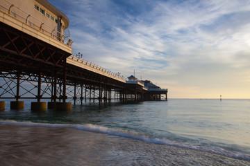 Cromer beach and Victorian pier in Norfolk