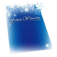 Weihnachten - Hintergrund - Wunschzettel