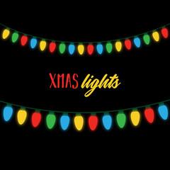 Christmas Lights Vector Free.Christmas Lights Vector Photos Royalty Free Images