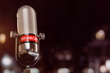 Broadcast Mikrophone