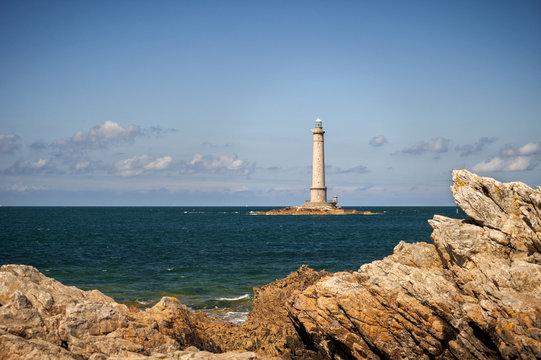 Phare de Goury (Lighthouse) on the Cap de La Hague, Auderville, Basse Normandy, France
