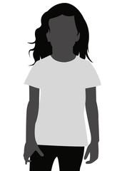 T-Shirt Vorlage Kind