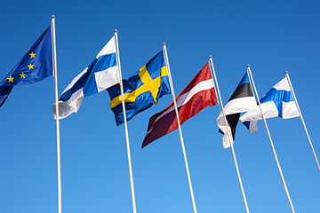 Flaggen Nordeuropa