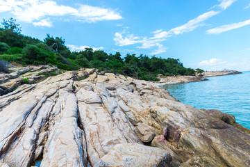 Coastline at the Greece