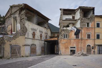 Visso, dopo il terremoto