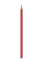 Bleistift-Illustration als Rotstift