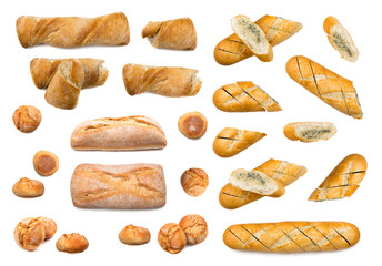 Fresh Whole Bread Collection